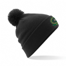 Ballymena Shamrock Celtic Supporters Club Bobble Hat - Black 2018